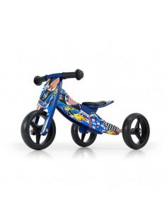 Bicicleta transformabila Jake Blue cars