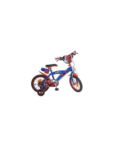 Bicicleta Spiderman, 14 inch