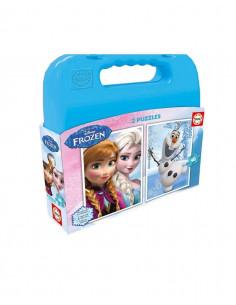 Set 2 Puzzle Disney Frozen 48 piese