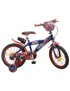 Bicicleta Spiderman, 16 inch
