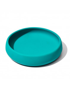 Farfurie din Silicon Teal