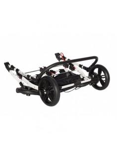 Carucior Gemeni Pj Stroller 3 In 1 Black