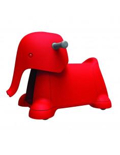 Jucarie cu Roti Yetizoo Elefant Rosu