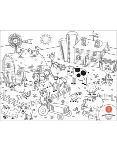 Set Complet pentru Desen cu Plansa Refolosibila din Silicon