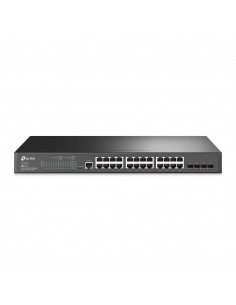 Switch TP-Link cu management L2, 24 Porturi Gigabit, 4 x SFP