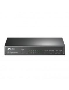 SWITCH PoE TP-LINK 9 porturi 10/100Mbps (8 PoE+), IEEE