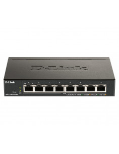 SWITCH PoE D-LINK Smart 8 porturi Gigabit (8 PoE) IEEE 802.3af