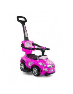 Masinuta copii 3 in 1 HAPPY Pink