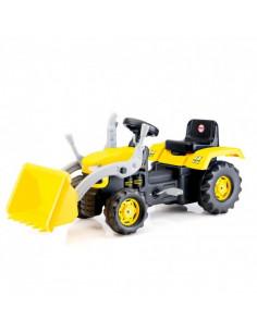 Tractor Excavator Dolu Cu Pedale, Galben