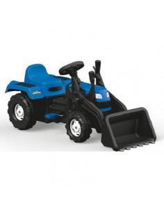 Tractor Excavator Dolu Cu Pedale, Albastru