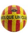 Minge de fotbal FC Barcelona CATALUNYA Yellow Red Stripes