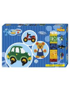 BAIETI 02 - 900 margeleHAMA  MAXI in cutie de cadou MARE