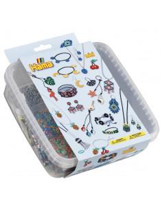 BRATARI - 10500 margele HAMA MINI in cutie de plastic
