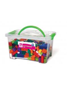 Joc de constructii cuburi atasabile mini