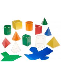 Set de 12 forme geometrice 2D 3D