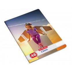 Set 10 caiete Herlitz Dreams A5, Dictando, 48 File