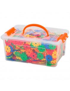 Fulgi de nea mici, Vinco, set de 1000 piese, multicolor