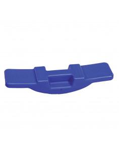 Umblator albastru cu dezechilibru accentuat