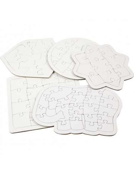 Puzzle gol forme diferite