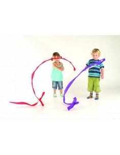 Panglici de dans, Edx Education, set de 6 bucati, multicolor