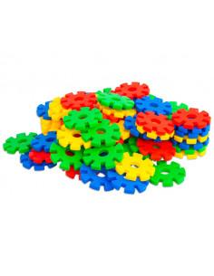 Fulgi de nea mari, Vinco, set de 100 piese, multicolor