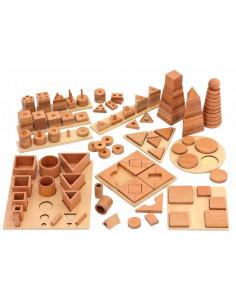 Set sortare Puzzle 12 tipuri din lemn fag