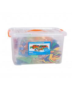 Set de forme colorate transparente pentru copii mici