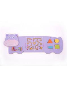 Panou motricitate fina Hipopotamul