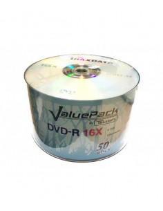 DVD-R Traxdata Value Pack, 4.7 GB, 16X, 50 buc