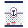 Set caiete Herlitz Nautica A5, 10 dictando + 10 matematica, 48