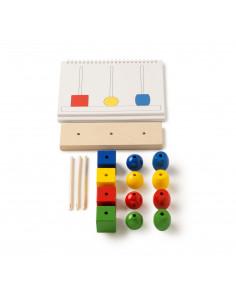 Joc de dezvoltare cognitiva, Construieste turnul