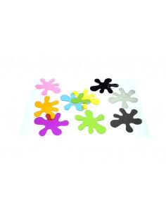 Pete de culoare, set de 10 bucati, multicolor