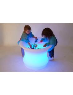 Masa senzoriala luminoasa pentru apa si nisip