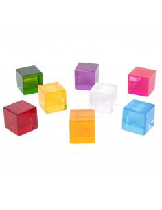 Set de 8 cuburi de perceptie senzoriala