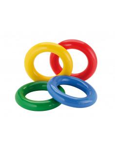 Set de 4 inele din cauciuc moale de stimulare senzoriala Gym