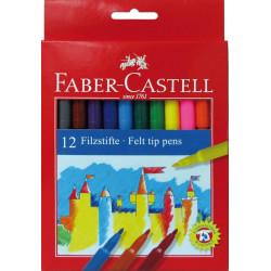Carioci Faber-Castell, 12 culori