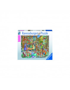 PUZZLE NOAPTE IN LIBRARIE, 1000 PCS