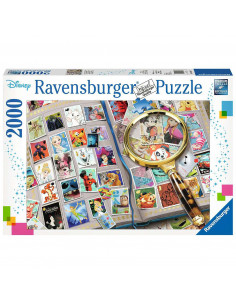 PUZZLE TIMBRE DISNEY, 2000 PIESE