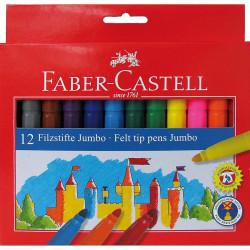 Carioci Jumbo Faber-Castell, 24 culori