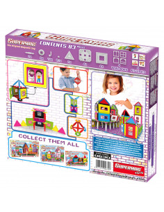 SUPERMAG MY HOUSES - SET CONSTRUCTIE 83 PIESE