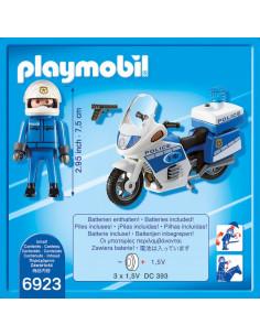 Motocicleta Politiei Cu Led