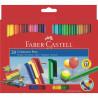 Carioci Connector Faber-Castell, 10 culori