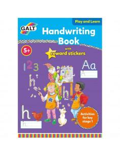 Carte cu activitati si abtibilduri -  Scrisul de mana