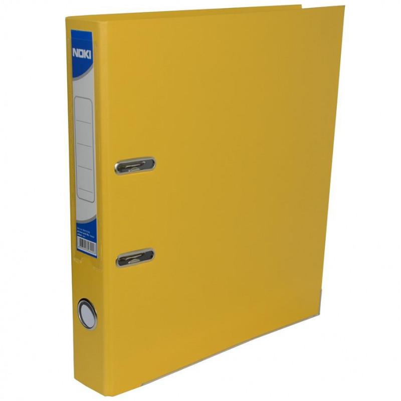 Biblioraft Noki Plastifiat, 7.5cm, Galben