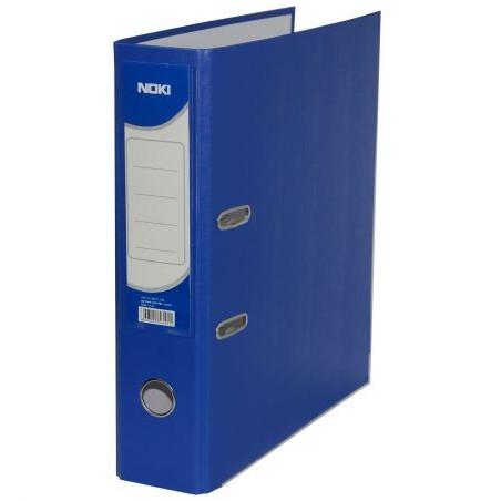 Biblioraft Noki plastifiat, 7.5 cm, Albastru