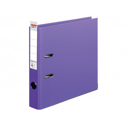 Biblioraft Herlitz A4 5 cm Pp Interior-Exterior Violet
