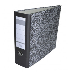 Biblioraft Herlitz A4 8 cm Marmor Economic Fara Insertie