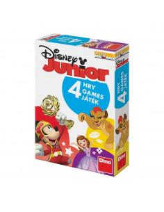Joc interactiv 4 in 1 - Disney Junior