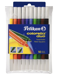 Carioci Pelikan Colorella Duo C407, Set 10, Blister