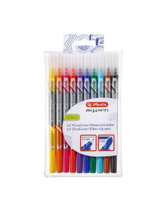 Fineliner + Carioci Herlitz My.Pen, Set 10
